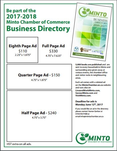2018/19 Business Directory Price List
