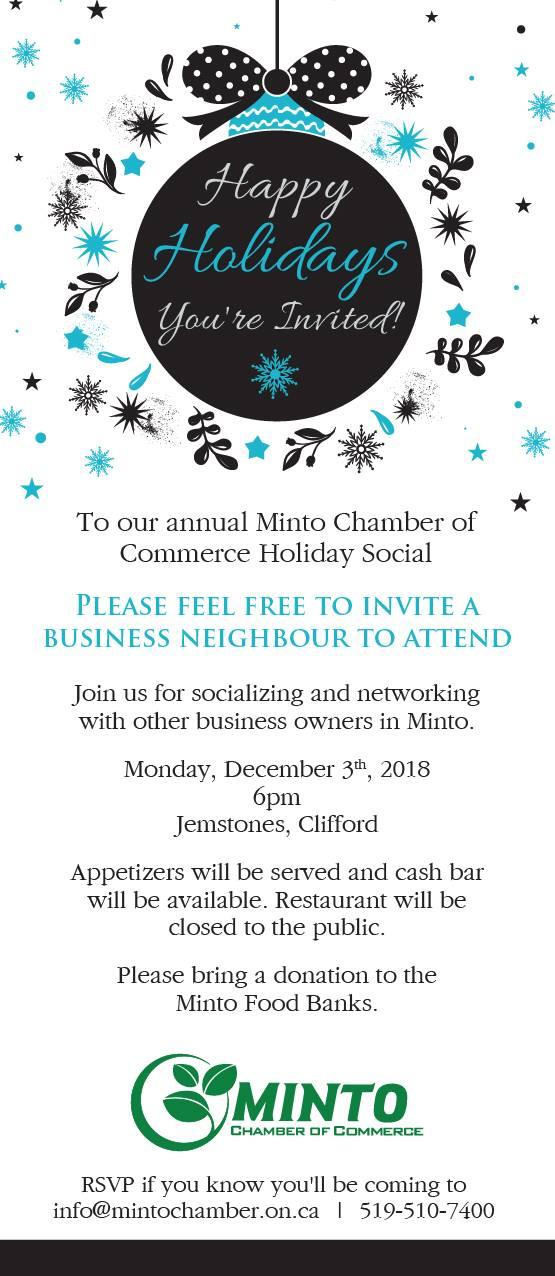 Holiday Social Invitation