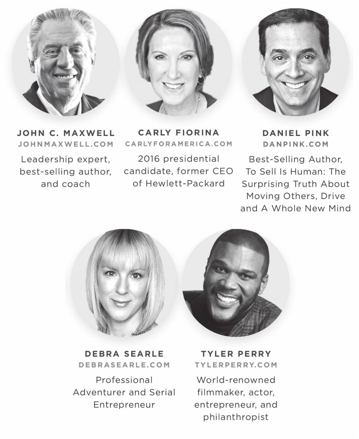 Live2Lead Speakers 2018