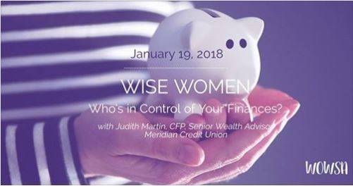 WOWSA Presents Wise Women – Who's in control of your finances?